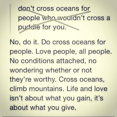 cross oceans